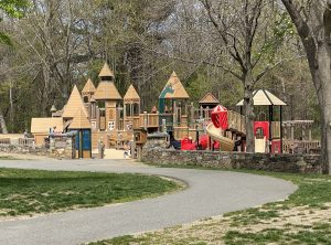 Playground Castle in Trees