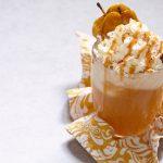 hot caramel cider